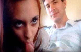 Image Golfa argentina se la chupa a su novio en medio del tren
