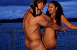 Image Milf mexicana folla duro con su querido marido en público