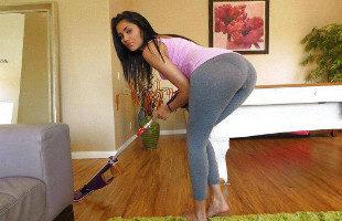 Image Latina culona se toma un descanso para echar un buen polvo