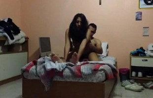 Image Mexicana disfruta del sexo con una cámara grabándolo todo