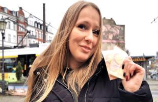 Image Zorra alemana estrena su culito al grabar una escena por dinero