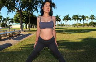 Image La instructora de yoga no se pudo resistir al rabo de su alumno