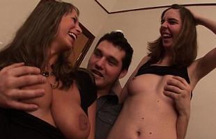 Image Varias rusas se pasan bebiendo y montan una orgía en casa